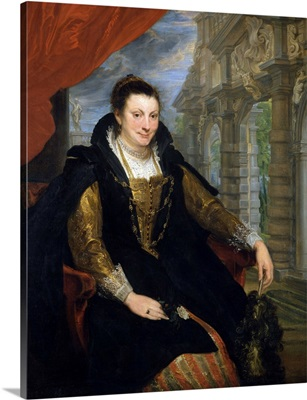 Portrait Of Isabella Brant By Anthony Van Dyck