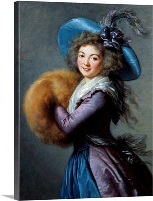 Portrait of Madame Mole Raymond by Elisabeth Vigee-Lebrun