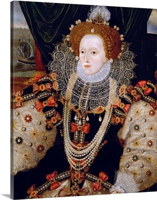 Portrait Of Queen Elizabeth I Of England (The Armada Portrait)