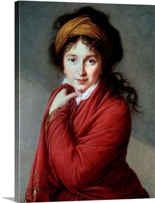 Portrait of the Countess Nathalie Golovine by Marie Elisabeth Louise Vigee Lebrun