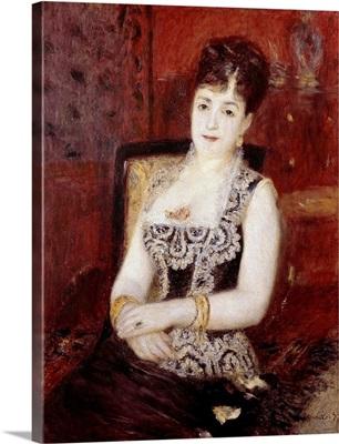 Portrait of the Countess of Pourtales by Pierre-Auguste Renoir