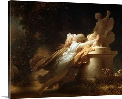 Prayer To Cupid By Jean-Honore Fragonard