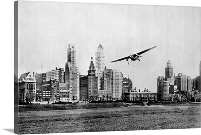 Propeller Aircraft In Chicago