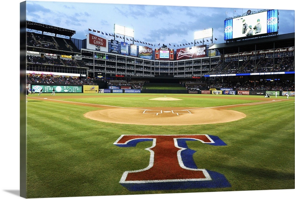 Phenomenal Rangers Ballpark In Arlington Behind Home Plate Beutiful Home Inspiration Cosmmahrainfo