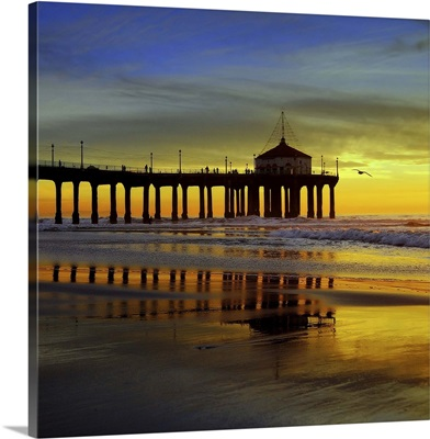 Reflection Manhattan Beach, California