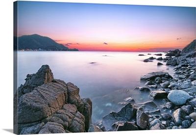 Rock Beach in Nishiizu.
