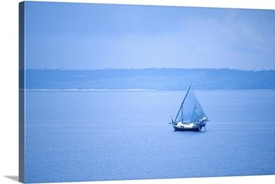 Sailboat in Bali
