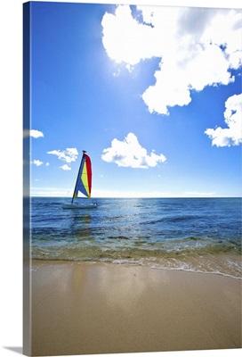 Sailing in the Caribbean, Dominican Republic
