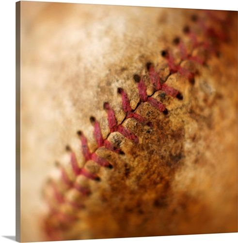Seam on antique baseball Wall Art, Canvas Prints, Framed Prints ...