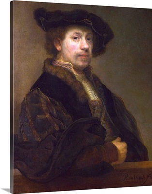 Self Portrait At The Age Of 34 By Rembrandt Van Rijn