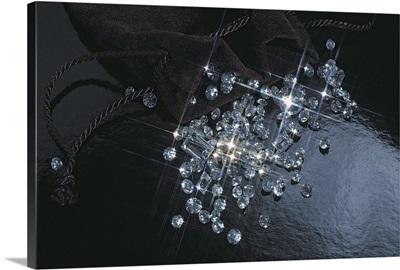 Shimmering diamonds