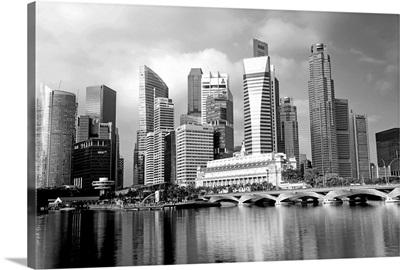 Singapore Skyline, Singapore, South East Asia