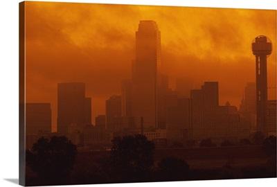 Smog in the City, Dallas, Texas