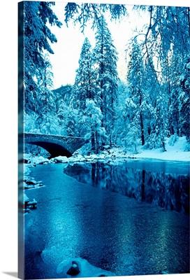Snow in Yosemite National Park, California