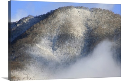 Snow Mountain, Morning, Takayama, Japan