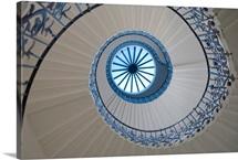Spiral staircase, London, England