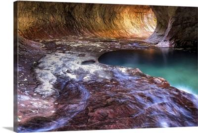 Subway Cave, Zion National Park, Utah