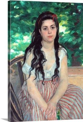 Summer, The Bohemian By Pierre-Auguste Renoir