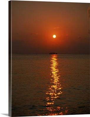 Sunset and Sea I