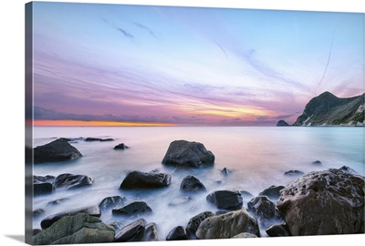 Sunset at Ihama Rocky Beach