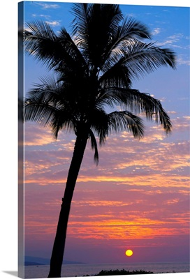 Sunset In Paradise, Makena, Maui, Hawaii