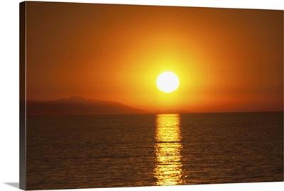 Sunset over Santa Catalina Island