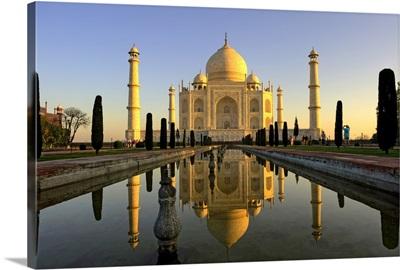 Taj Mahal located in Agra, India.