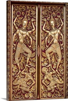 Temple Doors, Thailand