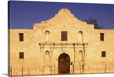 The Alamo, late afternoon, San Antonio, TX