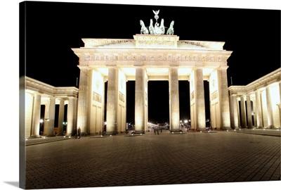 The Brandenburg Gate, Berlin Germany