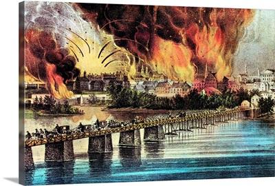 The fall of Richmond, Virginia, American Civil War