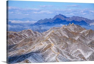 The Great Wall At Jinshanling