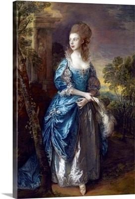 The Hon Frances Duncombe By Thomas Gainsborough