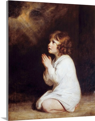 The infant Samuel praying by Joshua Reynolds