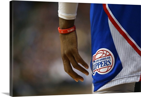 The Los Angeles Clippers Logo Worn By Chris Paul