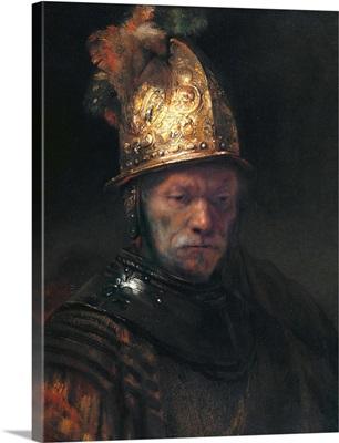 The Man With The Golden Helmet By Circle Of Rembrandt Van Rijn