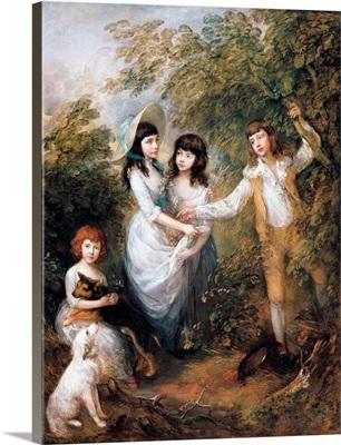 The Marsham Children By Thomas Gainsborough