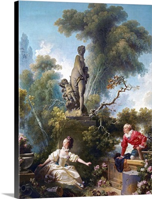 The Progress Of Love, The Rendezvous By Jean-Honore Fragonard