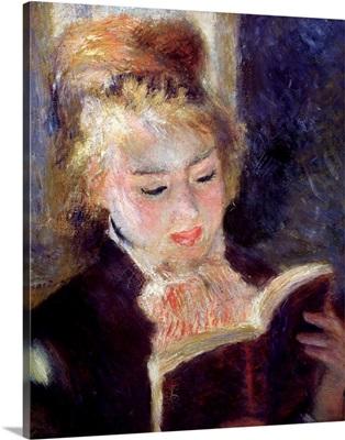 The Reader by Pierre-Auguste Renoir
