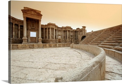 The Roman Theatre, Palmyra, Syria
