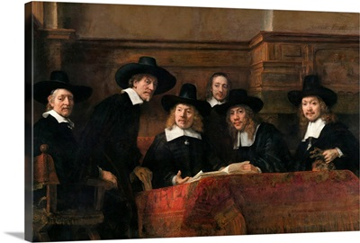The Syndics, The Sampling Officials (Wardens) Of The Amsterdam Drapers Guild