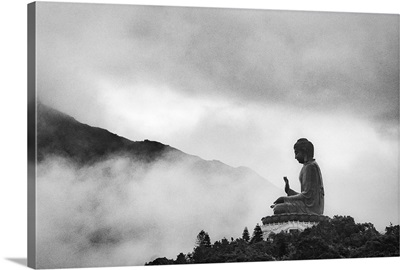 Tian Tan Buddha, Ngong Ping, Lantau Island, Hong Kong.