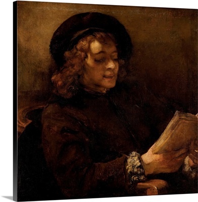 Titus Van Rijn, The Artist's Son, Reading By Rembrandt Van Rijn