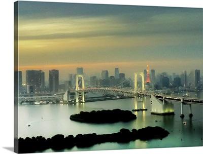 Tokyo cityscape.