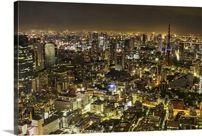 Tokyo Cityscape at night.