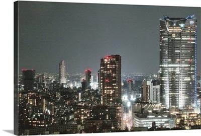 Tokyo Japan night cityscape