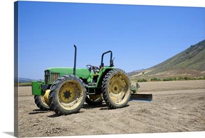 Tractor in Ventura County, California