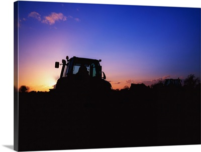 Tractor Ploughing