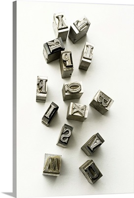 Typewriter letters