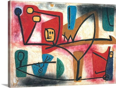 Uebermut (Arrogance) By Paul Klee